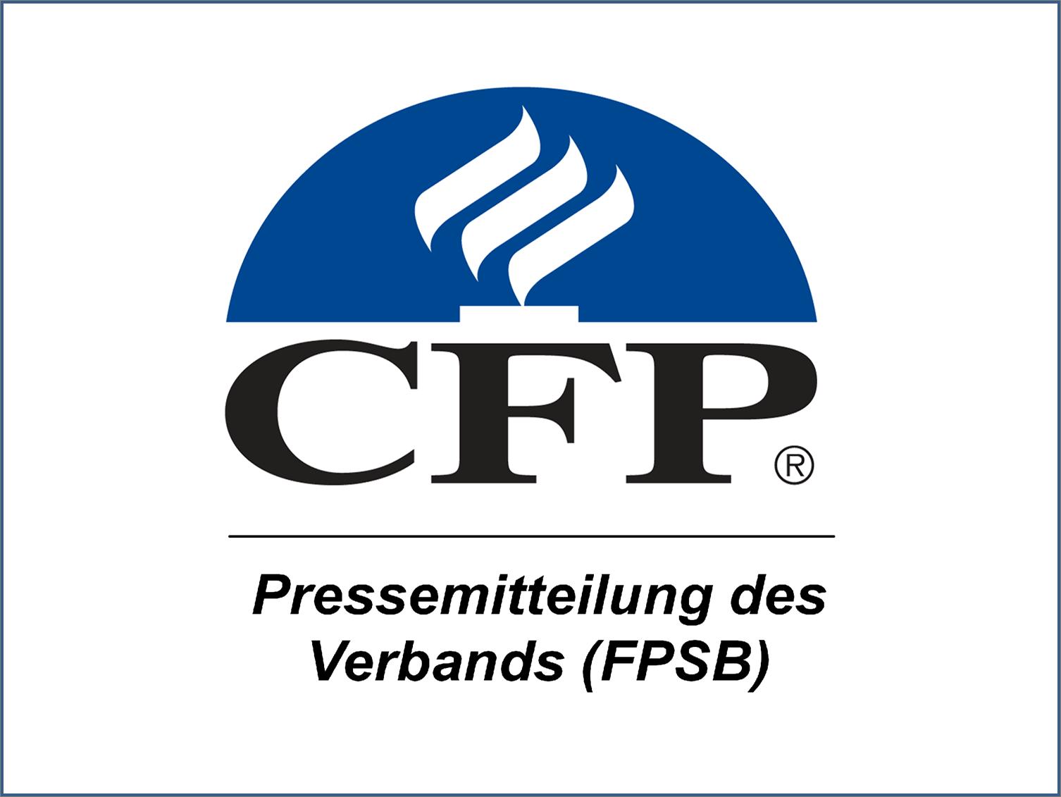 Pressemitteilung des CFP Verbandes (FPSB)